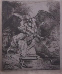 ABRAHAM SACRIFICANDO A SU HIJO ISAAC